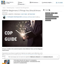 5 Questions You Should Ask Before You Implement a CDP