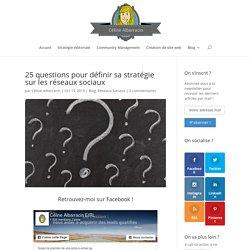 25 questions pour définir sa stratégie sur les réseaux sociaux - Content Marketing