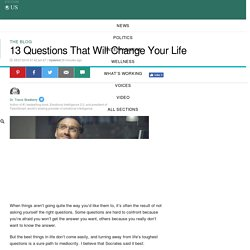 13 Questions That Will Change Your Life