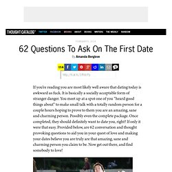 62 Questions To Ask On The First Date