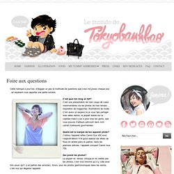 Le monde de Tokyobanhbao: Blog Mode gourmand