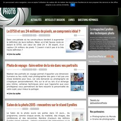 Photos - Guide - QuestionsPhoto, le magazine web des techniques