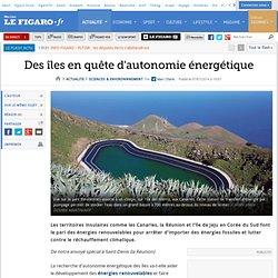 Des îles en quête d'autonomie énergétique
