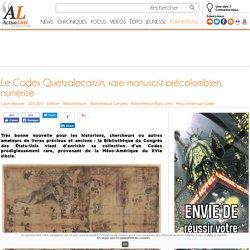 Le Codex Quetzalecatzin, rare manuscrit précolombien, numérisé