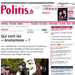 Qui sont les « Anonymous » ?