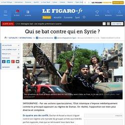 Qui se bat contre qui en Syrie ?