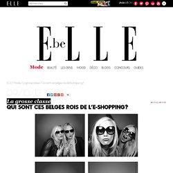 Qui sont ces belges rois de l'e-shopping?