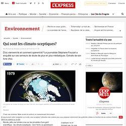 Qui sont les climato-sceptiques?