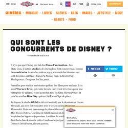 Qui sont les concurrents de Disney ?