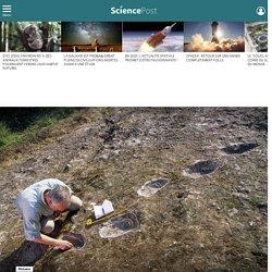 Qui s'est aventuré sur ce volcan il y a 385 000 ans ?
