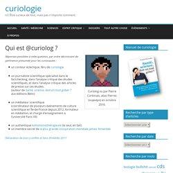 Qui est @curiolog ?
