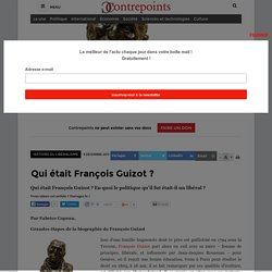 Qui était François Guizot