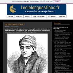 Qui était Regiomontanus ?