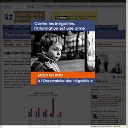 Qui sont les pauvres en France?