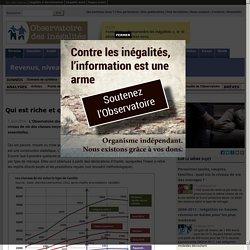 Qui est riche et qui est pauvre en France?