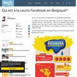 Qui est à la sauce Facebook en Belgique?