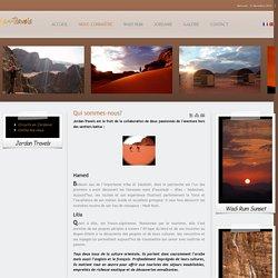 Wadi Rum Guides: Jordan-Travels (Hamed & Lilia*)