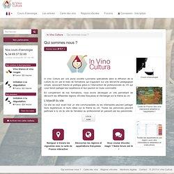 L'objectif du site In Vino Cultura