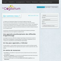 Cogitorium, pour mieux apprendre