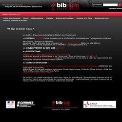 Bibnum. Education. Textes fondateurs de la Science
