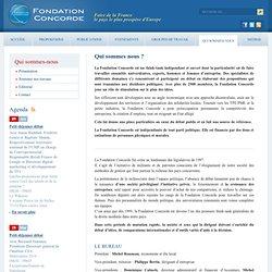 Fondation Concorde - Présentation