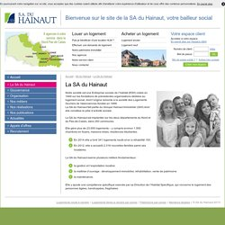 Qui sommes-nous ? - SA du Hainaut