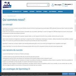 Qui sommes nous ? - Sportshop.fr