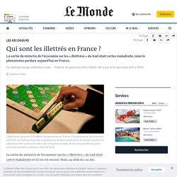 Qui sont les illettrés en France ?