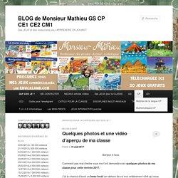 BLOG de Monsieur Mathieu GS CP CE1 CE2 CM1