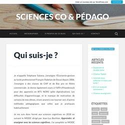 Qui suis-je ? – SCIENCES CO & PÉDAGO