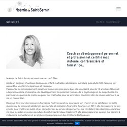 Qui suis-je ? – Noémie de Saint-Sernin