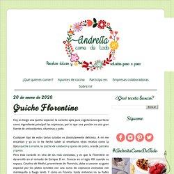 Quiche Florentine ~ Andreíta come de todo
