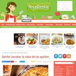 Quiche Lorraine, receta FÁCIL y rápida - Pequerecetas.com