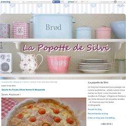 Quiche Au Poulet, Olives Noires Et Mozzarella
