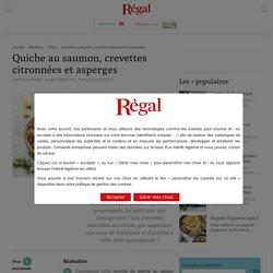 Quiche au saumon : recette printemps