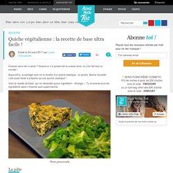 Quiche végétalienne : la recette de base ultra facile !