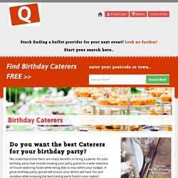Quick Buffet - Caterers Store