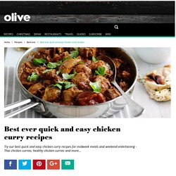 Best Quick and Easy Chicken Curry Recipes - olive