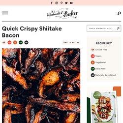 Quick Crispy Shiitake Bacon