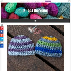 Quick and Easy Preemie Hat - KT and the Squid