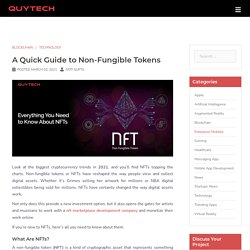 A Quick Guide to Non-Fungible Tokens (NFTs)