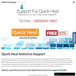 Quick Heal Antivirus Support