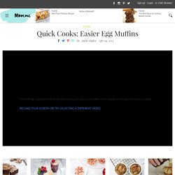 Quick Cooks Very Easy Eggy Muffins Recipe - Food Tips & Advice