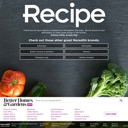 Quick Recipes, Easy Meal Ideas - Recipe.com