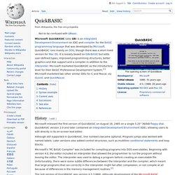 QuickBASIC