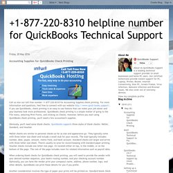 Accounting Supplies for QuickBooks Check Printing