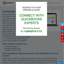 QuickBooks Desktop Enterprise 2020 - Comprehensive Guide