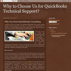 Why to Choose Us for QuickBooks Technical Support?
