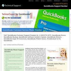 800-979-2975 QuickBooks Customer Service Phone Number